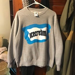 Ice Cream Crewneck Sweatshirt